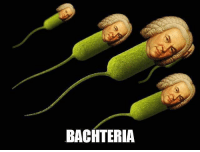 It's not photoshopped tho: BACHTERIA It's not photoshopped tho