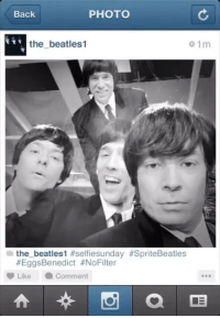 """<p>A behind-the-scenes Instagram from<span><a href=""""http://www.youtube.com/watch?v=KZYXOSvpYQ0&amp;feature=c4-overview&amp;list=UU8-Th83bH_thdKZDJCrn88ggma"""" title=""""The Beatles' first performance"""" target=""""_blank"""">The Beatles&rsquo; first performance</a> on the Ed Sullivan Show!</span></p> <!--[if gte mso 9]><xml>  <o:OfficeDocumentSettings>   <o:AllowPNG/>  </o:OfficeDocumentSettings> </xml><![endif]-->  <!--[if gte mso 9]><xml>  <w:WordDocument>   <w:View>Normal</w:View>   <w:Zoom>0</w:Zoom>   <w:TrackMoves/>   <w:TrackFormatting/>   <w:PunctuationKerning/>   <w:ValidateAgainstSchemas/>   <w:SaveIfXMLInvalid>false</w:SaveIfXMLInvalid>   <w:IgnoreMixedContent>false</w:IgnoreMixedContent>   <w:AlwaysShowPlaceholderText>false</w:AlwaysShowPlaceholderText>   <w:DoNotPromoteQF/>   <w:LidThemeOther>EN-US</w:LidThemeOther>   <w:LidThemeAsian>JA</w:LidThemeAsian>   <w:LidThemeComplexScript>X-NONE</w:LidThemeComplexScript>   <w:Compatibility>    <w:BreakWrappedTables/>    <w:SnapToGridInCell/>    <w:WrapTextWithPunct/>    <w:UseAsianBreakRules/>    <w:DontGrowAutofit/>    <w:SplitPgBreakAndParaMark/>    <w:EnableOpenTypeKerning/>    <w:DontFlipMirrorIndents/>    <w:OverrideTableStyleHps/>    <w:UseFELayout/>   </w:Compatibility>   <m:mathPr>    <m:mathFont m:val=""""Cambria Math""""/>    <m:brkBin m:val=""""before""""/>    <m:brkBinSub m:val=""""&#45;-""""/>    <m:smallFrac m:val=""""off""""/>    <m:dispDef/>    <m:lMargin m:val=""""0""""/>    <m:rMargin m:val=""""0""""/>    <m:defJc m:val=""""centerGroup""""/>    <m:wrapIndent m:val=""""1440""""/>    <m:intLim m:val=""""subSup""""/>    <m:naryLim m:val=""""undOvr""""/>   </m:mathPr></w:WordDocument> </xml><![endif]--><!--[if gte mso 9]><xml>  <w:LatentStyles DefLockedState=""""false"""" DefUnhideWhenUsed=""""true""""   DefSemiHidden=""""true"""" DefQFormat=""""false"""" DefPriority=""""99""""   LatentStyleCount=""""276"""">   <w:LsdException Locked=""""false"""" Priority=""""0"""" SemiHidden=""""false""""    UnhideWhenUsed=""""false"""" QFormat=""""true"""" Name=""""Normal""""/>   <w:LsdException Locked=""""false"""" Priority=""""9"""" SemiHidden=""""false""""    UnhideW"""