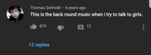 Back round music is my favorite type of music: Back round music is my favorite type of music