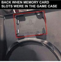 Internet, Lmao, and Meme: BACK WHEN MEMORY CARD  SLOTS WERE IN THE GAME CASE Throwbackkkk, who had PS2? Been following for a bit? Check out my backup (@memerzone) for even more memes 🔥 - Tags (Ignore) 🚫 GamingPosts CallOfDuty Memes Cod Hilarious Gaming Tumblr FunnyPosts Xbox Lmao Playstation XboxOne Internet TwitterPosts CSGO Gamer haha Follow Meme InfiniteWarfare Spongebob Shook YouTube Relatable Triggered DankMemes