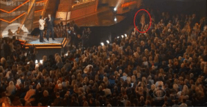 Apparently, Gif, and Music: backdoorteenmom:  lxvemxneyparty:  Jamie Lynn Spears leaves the audience at the 2014 American Country Music Awards (which took place in Las Vegas) after Blake Shelton's rude comment about her sister Britney   apparently the audience didn't have to go anywhere to see a lip synch performance
