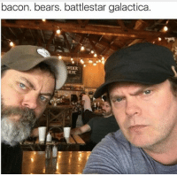 Memes, Bears, and Bacon: bacon. bears. battlestar galactica.  ORDER GOLD