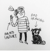 Bad, Memes, and Best: BAD  DRAWING  HAND  INJUR Hi everyone! As you may know, I have injured my right hand. So I'm sure you can interpret the first line of the SaptanStories much better than I can... follow @inbritish & use the hashtag SaptanStories to submit & the best entry will get a personally signed digital copy of my left-handed creation! 🇮🇳 🇬🇧 ukindia2017