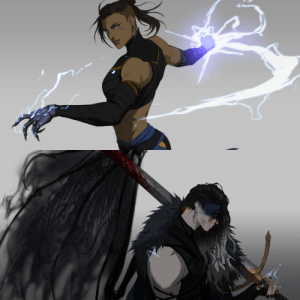 badasserywomen:  Beau and yasha, my fav ladies. I seriously hope they get yasha back soon, and i really want some beau backstory.: badasserywomen:  Beau and yasha, my fav ladies. I seriously hope they get yasha back soon, and i really want some beau backstory.
