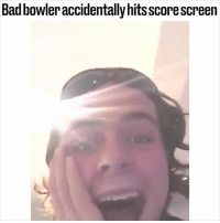 Memes, Bowling, and Hell: Badbowleraccidentally hits scorescreen I don't think he'll be back in that bowling alley... 😂🎳🙈