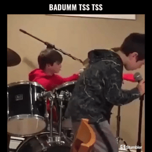 Funny, Memes, and Videos: BADUMM TSS TSS  S Stumbler RT @StumblerFunny: For more funny videos follow @StumblerFunny or visit https://t.co/wXxwph26cH https://t.co/9wRd8cPRSy