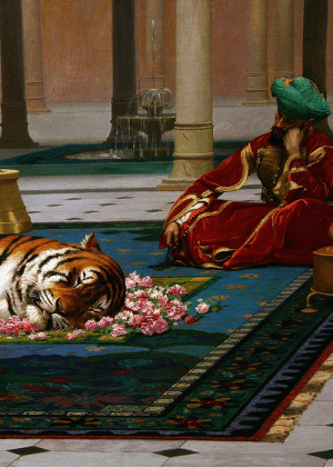 Tumblr, Blog, and Http: baetology:  marcuscrassus:   The Grief of the Pasha, 1882 - Jean Leon Gerome   My favorite painter.