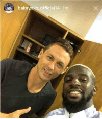 """Be Like, Memes, and Good: bakayoko official14 1m Matic be like: i did a pretty good job, now its your turn!""""💙 Good Luck Baka 🍀"""