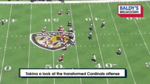 "The tape doesn't lie.   ""If you don't believe this (@AZCardinals) offense with Kliff + @K1 can work, watch this."" (via @BaldyNFL) #RedSea https://t.co/IGDrd3Lrc0: BALDY'S  BREAKDOWN  B AK E  5 0  Takina a look at the transformed Cardinals offense The tape doesn't lie.   ""If you don't believe this (@AZCardinals) offense with Kliff + @K1 can work, watch this."" (via @BaldyNFL) #RedSea https://t.co/IGDrd3Lrc0"