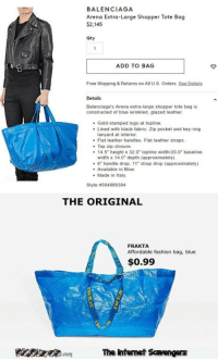 2248be4bcc57 BALENCIAGA Arena Extra-Large Shopper Tote Bag  2145 Qty ADD TO BAG ...