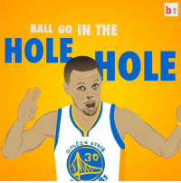 Run, Sports, and Holes: BALL GO IN THE  HOLE  PHOLE  OLDEN  STATE  30 Warriors fans after the Dubs' 21-4 run to end the half vs. Houston