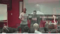 What an awesome moment for NC State football player Nick Lacy as he receives a scholarship 🙌🏼: BALL What an awesome moment for NC State football player Nick Lacy as he receives a scholarship 🙌🏼