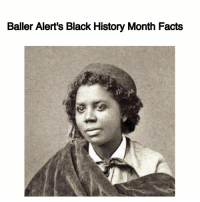 Baller Alert's Black History Month Facts-blogged by- @peachkyss Did you know that EdmoniaLewis was the first African-American and Native American sculptor? Edmonia Lewis' first notable commercial success was a bust of Colonel Robert Gould Shaw. The money she earned selling copies of the bust allowed her to sail to Rome, where she mastered working on marble. Edmonia Lewis has pieces that are a part of the permanent collections of the Howard University Gallery of Art and the Smithsonian American Art Museum. BABlackHistory: Baller Alert's Black History Month Facts Baller Alert's Black History Month Facts-blogged by- @peachkyss Did you know that EdmoniaLewis was the first African-American and Native American sculptor? Edmonia Lewis' first notable commercial success was a bust of Colonel Robert Gould Shaw. The money she earned selling copies of the bust allowed her to sail to Rome, where she mastered working on marble. Edmonia Lewis has pieces that are a part of the permanent collections of the Howard University Gallery of Art and the Smithsonian American Art Museum. BABlackHistory