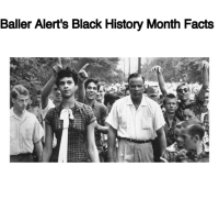 "Africa, Baller Alert, and Black History Month: Baller Alert's Black History Month Facts Baller Alert's Black History Month Facts- blogged by @peachkyss ⠀⠀⠀⠀⠀⠀⠀⠀⠀ ⠀⠀⠀⠀⠀⠀⠀⠀⠀ Did you know that DorothyCounts was the first black student to attend Harding High, a previously all-white school in Charlotte, North Carolina? ⠀⠀⠀⠀⠀⠀⠀⠀⠀ ⠀⠀⠀⠀⠀⠀⠀⠀⠀ On September 4, 1957, Dorothy Counts was one of the four black students enrolled at various all-white schools in the district; She was at Harry Harding High School in Charlotte while three students were enrolled at other schools. At just 15 years old, Dorothy's first day of school was very hate-filled. On her first day, she was spat on, had rocks and trash thrown at her and was told to ""go back to Africa."" ⠀⠀⠀⠀⠀⠀⠀⠀⠀ Dorothy Counts stated, ""I did not feel I was being protected in any way within the confines of the school because there were adults there and they did nothing. Teachers ignored me as if I was not even in the classroom. If I raised my hand, I wasn't acknowledged."" ⠀⠀⠀⠀⠀⠀⠀⠀⠀ ⠀⠀⠀⠀⠀⠀⠀⠀⠀ ⠀⠀⠀⠀⠀⠀⠀⠀⠀ After four just days, Dorothy left Harding High School. At the age of 74, she takes education very serious and is involved with the community trying to make a difference for our children. She doesn't want our children to experience the hate she had to experience. BABlackHistory"