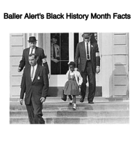 "Baller Alert, Black History Month, and Memes: Baller Alert's Black History Month Facts Baller Alert's Black History Month Facts- blogged by- @peachkyss ⠀⠀⠀⠀⠀⠀⠀⠀⠀ ⠀⠀⠀⠀⠀⠀⠀⠀⠀ Did you know that RubyBridges, now 62 and the first African American child to attend an all-white public school, was born the same year that the Supreme Court's Brown v. Board of Education decided to desegregate the schools? ⠀⠀⠀⠀⠀⠀⠀⠀⠀ ⠀⠀⠀⠀⠀⠀⠀⠀⠀ When Ruby was in kindergarten, she was one of many African-American students in New Orleans who were chosen to take a test determining whether or not she could attend a white school. It is said the test was written to be especially difficult so that students would have a hard time passing. The idea was that if all the African-American children failed the test, New Orleans schools might be able to stay segregated for a while longer. Ruby lived a mere five blocks from an all-white school, but attended kindergarten several miles away, at an all-black segregated school. ⠀⠀⠀⠀⠀⠀⠀⠀⠀ ⠀⠀⠀⠀⠀⠀⠀⠀⠀ In 1960, Ruby Bridges' parents were informed by officials from the NAACP that she was one of only six African-American students to pass the test. Ruby would be the only African-American student to attend the William Frantz School, near her home, and the first black child to attend an all-white elementary school in the South. ⠀⠀⠀⠀⠀⠀⠀⠀⠀ ⠀⠀⠀⠀⠀⠀⠀⠀⠀ The image of this small black girl being escorted to school by four large white men (pictured above) inspired Norman Rockwell to create the painting ""The Problem We All Must Live With,"" which graced the cover of Look magazine in 1964."