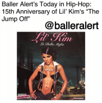 "Baller Alert's Today in Hip-Hop: 15th Anniversary of Lil' Kim's ""The Jump Off""-blogged by @thereal__bee ⠀⠀⠀⠀⠀⠀⠀⠀⠀ ⠀⠀ 15 years ago today, Lil' Kim released her single ""The Jump Off"" from her third studio album 'La Bella Mafia'. ⠀⠀⠀⠀⠀⠀⠀⠀⠀ ⠀⠀ Released only a few days before her album, the single, produced by Timbaland and featuring Mr. Cheeks, was the perfect song to prep fans for Kim's new body of work. ⠀⠀⠀⠀⠀⠀⠀⠀⠀ ⠀⠀ The single was a club banger that debuted at number 95 on the Billboard Hot 100, eventually peaking at number 17 on the chart. ⠀⠀⠀⠀⠀⠀⠀⠀⠀ ⠀⠀ With the major success of ""The Jump Off"", Kim's album went on to be dubbed the best selling female rap album of 2003, with over 1.3 million copies sold in the United States and over 2 million copies sold worldwide.: Baller Alert's Today in Hip-Hop:  15th Anniversary of Lil' Kim's ""The  Jump Off""  @balleralert  a Bella Mafia  AL  は,  CLEAN ALBUM SAMPLER  ALBUM SAMPLER Baller Alert's Today in Hip-Hop: 15th Anniversary of Lil' Kim's ""The Jump Off""-blogged by @thereal__bee ⠀⠀⠀⠀⠀⠀⠀⠀⠀ ⠀⠀ 15 years ago today, Lil' Kim released her single ""The Jump Off"" from her third studio album 'La Bella Mafia'. ⠀⠀⠀⠀⠀⠀⠀⠀⠀ ⠀⠀ Released only a few days before her album, the single, produced by Timbaland and featuring Mr. Cheeks, was the perfect song to prep fans for Kim's new body of work. ⠀⠀⠀⠀⠀⠀⠀⠀⠀ ⠀⠀ The single was a club banger that debuted at number 95 on the Billboard Hot 100, eventually peaking at number 17 on the chart. ⠀⠀⠀⠀⠀⠀⠀⠀⠀ ⠀⠀ With the major success of ""The Jump Off"", Kim's album went on to be dubbed the best selling female rap album of 2003, with over 1.3 million copies sold in the United States and over 2 million copies sold worldwide."
