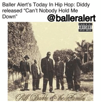 "Anaconda, Baller Alert, and Billboard: Baller Alert's Today In Hip Hop: Diddy  released ""Can't Nobody Hold Me  Down""  @balleralert Baller Alert's Today In Hip Hop: Diddy released ""Can't Nobody Hold Me Down"" blogged by @lanaladonna⠀⠀⠀⠀⠀⠀⠀ ⠀⠀⠀⠀⠀⠀⠀ ⠀⠀⠀⠀⠀⠀⠀ Can you believe it? A whole 21 years ago, who we then knew as PuffDaddy made his debut with the single ""Can't Nobody Hold Me Down"" from debut album, ""No Way Out."" ⠀⠀⠀⠀⠀⠀⠀ ⠀⠀⠀⠀⠀⠀⠀ Dominating the charts, ""Can't Nobody Hold Me Down"" sat comfortably on the Billboard Hot 100 as 1 for six weeks. Diddy though, didn't stop there. ""Mo Money Mo Problems,"" ""All About the Benjamins Remix,"" and ""I'll Be Missing You,"" all found themselves on the billboard charts. ⠀⠀⠀⠀⠀⠀⠀ ⠀⠀⠀⠀⠀⠀⠀ Being certified seven times platinum, a 3x Grammy award winner, an entrepenuer, rapper, songwriter, actor, and producer, it's safe to say Diddy is more than goals. ⠀⠀⠀⠀⠀⠀⠀ ⠀⠀⠀⠀⠀⠀⠀ Today, he is still topping charts without even putting out music, as he was recently named the world's highest paid hip hop artist in 2017 by Forbes. ⠀⠀⠀⠀⠀⠀⠀ ⠀⠀⠀⠀⠀⠀⠀ What are some of your favorites from Puff Daddy?"