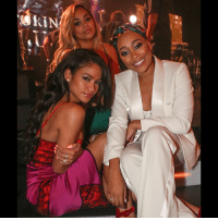BallerAlert - spotted - Cassie, LaurenLondon, Monica, QueenLatifah Diddy, TI, MackWilds, Quincy, JustineSkye & more in Miami at the Revolt Music Conference Gala (Swipe): BallerAlert - spotted - Cassie, LaurenLondon, Monica, QueenLatifah Diddy, TI, MackWilds, Quincy, JustineSkye & more in Miami at the Revolt Music Conference Gala (Swipe)