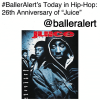 "BallerAlert's Today in Hip-Hop: 26th Anniversary of ""Juice""-blogged by @thereal__bee ⠀⠀⠀⠀⠀⠀⠀ ⠀⠀⠀⠀ On January 17, 1992, the hip-hop crime film ""Juice"" was released in theaters. Starring hip-hop legend, TupacShakur, OmarEpps, Jermaine Hopkins, and Khalil Kain, ""Juice"" was the epitome of hip-hop culture. ⠀⠀⠀⠀⠀⠀⠀ ⠀⠀⠀⠀ From Q's (Epps) DJing skills to their 90s street style, the film was a classic coming of age tale that is still loved today. ⠀⠀⠀⠀⠀⠀⠀ ⠀⠀⠀⠀ When Q, Bishop (Shakur), Steel (Hopkins), and Raheem (Kain) get tired of doing little petty crimes, they decide to go for the gold by hitting up a convenience store. But things take a turn for the worse when Bishop gets a hold of the gun and goes on a power trip. Now they must fight for their lives just to prove who got the juice. ⠀⠀⠀⠀⠀⠀⠀ ⠀⠀⠀⠀ What was one of your favorite scenes from the film?:  #BallerAlert's Today in Hip-Hop:  26th Anniversary of ""Juice""  @balleralert  How  far  will  you  go  to  got BallerAlert's Today in Hip-Hop: 26th Anniversary of ""Juice""-blogged by @thereal__bee ⠀⠀⠀⠀⠀⠀⠀ ⠀⠀⠀⠀ On January 17, 1992, the hip-hop crime film ""Juice"" was released in theaters. Starring hip-hop legend, TupacShakur, OmarEpps, Jermaine Hopkins, and Khalil Kain, ""Juice"" was the epitome of hip-hop culture. ⠀⠀⠀⠀⠀⠀⠀ ⠀⠀⠀⠀ From Q's (Epps) DJing skills to their 90s street style, the film was a classic coming of age tale that is still loved today. ⠀⠀⠀⠀⠀⠀⠀ ⠀⠀⠀⠀ When Q, Bishop (Shakur), Steel (Hopkins), and Raheem (Kain) get tired of doing little petty crimes, they decide to go for the gold by hitting up a convenience store. But things take a turn for the worse when Bishop gets a hold of the gun and goes on a power trip. Now they must fight for their lives just to prove who got the juice. ⠀⠀⠀⠀⠀⠀⠀ ⠀⠀⠀⠀ What was one of your favorite scenes from the film?"