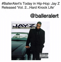 "Anaconda, Bailey Jay, and Billboard:  #BallerAlert's Today in Hip-Hop: Jay Z  Released Vol. 2...Hard Knock Life'  @balleralert  VOL.2...HARD KNOCK  UFE  PARENTAL  ADVISORY  IPLICIT CONTENT BallerAlert's Today in Hip-Hop: Jay Z Released 'Vol. 2...Hard Knock Life'-blogged by @thereal__bee ⠀⠀⠀⠀⠀⠀⠀⠀⠀ ⠀⠀ 19 years ago today, rapper JayZ released his third studio album, 'Vol. 2... Hard Knock Life' on Roc-A-Fella Records and Def Jam Recordings. ⠀⠀⠀⠀⠀⠀⠀⠀⠀ ⠀⠀ As of 2013, the album was said to be Jay Z's most commercially successful album. It was certified 5x Platinum by the RIAA in 2000 and has sold over 5 million copies in the United States. ⠀⠀⠀⠀⠀⠀⠀⠀⠀ ⠀⠀ From the humble beginnings of his first album to 'Vol. 2... Hard Knock Life', fans experience an evolution of this iconic lyricist. While he still maintains his ""street cred,"" by never forgetting where he comes from, he also allows us to see beneath the surface and get into his inner thoughts. ⠀⠀⠀⠀⠀⠀⠀⠀⠀ ⠀⠀ There is also an obvious change in the sound. While the first two albums are for true ""hip-hop heads"", this album catered more to the mainstream, by sampling songs from other genres such as the musical ""Annie"" for the hit song, ""Hard Knock Life"". The critically acclaimed album was ranked number 46 on Rolling Stone magazine's list of the 100 greatest albums from the 1990s. It also was his first album to peak at 1 on the Billboard 200. ⠀⠀⠀⠀⠀⠀⠀⠀⠀ ⠀⠀ The album even won a Grammy Award for Best Rap Album, but Jay Z refused to come as a form of boycotting. ⠀⠀⠀⠀⠀⠀⠀⠀⠀ ⠀⠀ The New York native told MTV, ""I am boycotting the Grammys because too many major rap artists continue to be overlooked. Rappers deserve more attention from the Grammy committee and from the whole world. If it's got a gun everybody knows about it; but if we go on a world tour, no one knows."""
