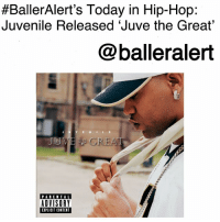 "Anaconda, Bailey Jay, and Billboard:  #BallerAlert's Today in Hip-Hop:  Juvenile Released 'Juve the Great  @balleralert  JD  PARENTAL  ADVISORY  EXPLICIT CONTENT BallerAlert's Today in Hip-Hop: Juvenile Released 'Juve the Great'-blogged by @thereal__bee ⠀⠀⠀⠀⠀⠀⠀⠀⠀ ⠀⠀ 14 years ago, Juvenile released his sixth album, 'Juve the Great'. ⠀⠀⠀⠀⠀⠀⠀⠀⠀ ⠀⠀ As his last album on Cash Money Records, the album was a major success becoming certified platinum on July 20, 2004. ⠀⠀⠀⠀⠀⠀⠀⠀⠀ ⠀⠀ The album also peaked at 28 on the Billboard 200 chart and sold over 100,000 copies in just the first week. ⠀⠀⠀⠀⠀⠀⠀⠀⠀ ⠀⠀ The popular single from the album was the hit song ""Slow Motion,"" featuring Soulja Slim. Slim was shot dead just a month before the album's release, but the song did top the Billboard Hot 100, making it the most successful single for both artists."
