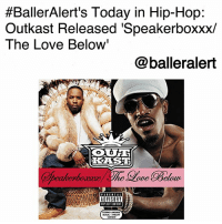 "BallerAlert's Today in Hip-Hop: Outkast Released 'Speakerboxxx- The Love Below'-blogged by @thereal__bee ⠀⠀⠀⠀⠀⠀⠀⠀⠀ ⠀⠀ On Sept. 23, 2003, rap duo Outkast released their fifth studio album 'Speakerboxxx-The Love Below.' ⠀⠀⠀⠀⠀⠀⠀⠀⠀ ⠀⠀ Released as a double album with more than two hours in playtime, the album was too expansive and creative to be shrunk down into one album. What's even more unique is that each album was an exclusive project from each group member. ⠀⠀⠀⠀⠀⠀⠀⠀⠀ ⠀⠀ BigBoi's 'Speakerboxxx' was filled with the Southern hip hop influence we're used too, while also experimenting with some Funk sounds. Andre3000's 'The Love Below' was just as experimental, playing with a variety of genres and giving us vibes that range from jazz to psychedelic sounds. ⠀⠀⠀⠀⠀⠀⠀⠀⠀ ⠀⠀ The album was an instant hit with both singles, ""Hey Ya!"" and ""The Way You Move,"" peaking at No. 1 on Billboard Hot 100. The body of work has also been certified diamond and has gone eleven times platinum by the RIAA. ⠀⠀⠀⠀⠀⠀⠀⠀⠀ ⠀⠀ In true Outkast fashion, 'Speakerboxxx-The Love Below' is a non traditional hip-hop album, that still gives us the lyricism we love. We can always appreciate this legendary group's ability to play with sounds and experiment with genres that may have never collided with hip-hop otherwise. ⠀⠀⠀⠀⠀⠀⠀⠀⠀ ⠀⠀ What was your favorite song from the album?:  #BallerAlert's Today in Hip-Hop:  Outkast Released 'Speakerboxxx/  The Love Below'  @balleralert  RES  IPLICIT CONTE  STRONG LANCUNCE  CONTENT BallerAlert's Today in Hip-Hop: Outkast Released 'Speakerboxxx- The Love Below'-blogged by @thereal__bee ⠀⠀⠀⠀⠀⠀⠀⠀⠀ ⠀⠀ On Sept. 23, 2003, rap duo Outkast released their fifth studio album 'Speakerboxxx-The Love Below.' ⠀⠀⠀⠀⠀⠀⠀⠀⠀ ⠀⠀ Released as a double album with more than two hours in playtime, the album was too expansive and creative to be shrunk down into one album. What's even more unique is that each album was an exclusive project from each group member. ⠀⠀⠀⠀⠀⠀⠀⠀⠀ ⠀⠀ BigBoi's 'Speakerboxxx' was filled with the Southern hip hop influence we're used too, while also experimenting with some Funk sounds. Andre3000's 'The Love Below' was just as experimental, playing with a variety of genres and giving us vibes that range from jazz to psychedelic sounds. ⠀⠀⠀⠀⠀⠀⠀⠀⠀ ⠀⠀ The album was an instant hit with both singles, ""Hey Ya!"" and ""The Way You Move,"" peaking at No. 1 on Billboard Hot 100. The body of work has also been certified diamond and has gone eleven times platinum by the RIAA. ⠀⠀⠀⠀⠀⠀⠀⠀⠀ ⠀⠀ In true Outkast fashion, 'Speakerboxxx-The Love Below' is a non traditional hip-hop album, that still gives us the lyricism we love. We can always appreciate this legendary group's ability to play with sounds and experiment with genres that may have never collided with hip-hop otherwise. ⠀⠀⠀⠀⠀⠀⠀⠀⠀ ⠀⠀ What was your favorite song from the album?"