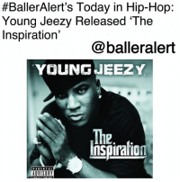 "Bailey Jay, Billboard, and Young Jeezy:  #BallerAlert's Today in Hip-Hop:  Young Jeezy Released 'The  Inspiration'  @balleralert  YOUNGJEEZ Y  The  Inspiraion  12  ADVISORY BallerAlert's Today in Hip-Hop: Young Jeezy Released 'The Inspiration'-blogged by @thereal__bee ⠀⠀⠀⠀⠀⠀⠀⠀⠀ ⠀⠀ 11 years ago today, YoungJeezy released his second album, 'The Inspiration: Thug Motivation 102.' ⠀⠀⠀⠀⠀⠀⠀⠀⠀ ⠀⠀ With three leading singles: ""I Luv It,"" ""Go Getta"" featuring R. Kelly, and ""Dreamin'"" featuring Keyshia Cole, 'The Inspiration' was a successful album upon its release. ⠀⠀⠀⠀⠀⠀⠀⠀⠀ ⠀⠀ The album became Jeezy's first number-one album debuting at number one on the US Billboard 200 after selling 352,000 copies in the first week. ⠀⠀⠀⠀⠀⠀⠀⠀⠀ ⠀⠀ The album also received good reviews from critics such as 4.5 stars from RollingStone and 4 out of 5 stars from AllMusic. Favorite song on the album?"
