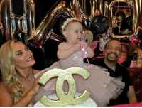 CoCo, Memes, and Celebrated: BallerBabies - ChanelNicole celebrates her first birthday icet coco ballerbaby