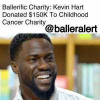 "BallerificCharity: Kevin Hart Donated $150K To Childhood Cancer Charity - blogged by @niksofly ⠀⠀⠀⠀⠀⠀⠀⠀⠀⠀⠀⠀⠀⠀⠀⠀⠀⠀⠀⠀⠀⠀⠀⠀⠀⠀⠀⠀⠀⠀⠀⠀⠀⠀⠀⠀ TheHartbeatWeekend has grown into something magnificent since it's 2014 inception. KevinHart doesn't just do anything all willy nilly. Hart told Essence, ""I don't know how to do anything half-way, if I'm going to do it I'm going to give 110 percent to it."" ⠀⠀⠀⠀⠀⠀⠀⠀⠀⠀⠀⠀⠀⠀⠀⠀⠀⠀⠀⠀⠀⠀⠀⠀⠀⠀⠀⠀⠀⠀⠀⠀⠀⠀⠀⠀ To kick off this year's three day extravaganza in Sin City (Las Vegas), the funny man donated in a big way. ⠀⠀⠀⠀⠀⠀⠀⠀⠀⠀⠀⠀⠀⠀⠀⠀⠀⠀⠀⠀⠀⠀⠀⠀⠀⠀⠀⠀⠀⠀⠀⠀⠀⠀⠀⠀ Hart presented BrittiCaresInternational with a $150K donation during a private dinner with the foundation's founders, Brittania Renee Henderson and her parents Jamie and Sherell Henderson, Essence reports. ⠀⠀⠀⠀⠀⠀⠀⠀⠀⠀⠀⠀⠀⠀⠀⠀⠀⠀⠀⠀⠀⠀⠀⠀⠀⠀⠀⠀⠀⠀⠀⠀⠀⠀⠀⠀ The foundation is dedicated to ""brightening the lives of children who have cancer."" It was birthed from Brittania, who at the age of 10, was diagnosed with Osteogenic Sarcoma. Instead of falling victim to the condition, Brittania chose to spread a little sunshine via gifts and positive energy with fellow kid cancer patients.: Ballerific Charity: Kevin Hart  Donated $150K To Childhood  Cancer Charity  @balleralert BallerificCharity: Kevin Hart Donated $150K To Childhood Cancer Charity - blogged by @niksofly ⠀⠀⠀⠀⠀⠀⠀⠀⠀⠀⠀⠀⠀⠀⠀⠀⠀⠀⠀⠀⠀⠀⠀⠀⠀⠀⠀⠀⠀⠀⠀⠀⠀⠀⠀⠀ TheHartbeatWeekend has grown into something magnificent since it's 2014 inception. KevinHart doesn't just do anything all willy nilly. Hart told Essence, ""I don't know how to do anything half-way, if I'm going to do it I'm going to give 110 percent to it."" ⠀⠀⠀⠀⠀⠀⠀⠀⠀⠀⠀⠀⠀⠀⠀⠀⠀⠀⠀⠀⠀⠀⠀⠀⠀⠀⠀⠀⠀⠀⠀⠀⠀⠀⠀⠀ To kick off this year's three day extravaganza in Sin City (Las Vegas), the funny man donated in a big way. ⠀⠀⠀⠀⠀⠀⠀⠀⠀⠀⠀⠀⠀⠀⠀⠀⠀⠀⠀⠀⠀⠀⠀⠀⠀⠀⠀⠀⠀⠀⠀⠀⠀⠀⠀⠀ Hart presented BrittiCaresInternational with a $150K donation during a private dinner with the foundation's founders, Brittania Renee Henderson and her parents Jamie and Sherell Henderson, Essence reports. ⠀⠀⠀⠀⠀⠀⠀⠀⠀⠀⠀⠀⠀⠀⠀⠀⠀⠀⠀⠀⠀⠀⠀⠀⠀⠀⠀⠀⠀⠀⠀⠀⠀⠀⠀⠀ The foundation is dedicated to ""brightening the lives of children who have cancer."" It was birthed from Brittania, who at the age of 10, was diagnosed with Osteogenic Sarcoma. Instead of falling victim to the condition, Brittania chose to spread a little sunshine via gifts and positive energy with fellow kid cancer patients."