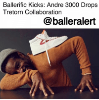 "Andre 3000, Complex, and Dope: Ballerific Kicks: Andre 3000 Drops  Tretorn Collaboration  @balleralert Ballerific Kicks: Andre 3000 Drops Tretorn Collaboration- blogged by @niksofly ⠀⠀⠀⠀⠀⠀⠀⠀⠀⠀⠀⠀⠀⠀⠀⠀⠀⠀⠀⠀⠀⠀⠀⠀⠀⠀⠀⠀⠀⠀⠀⠀⠀ Andre3000 teamed up with Swedish shoe company- Tretorn as a creative director earlier this year. Now the iconic artist and 1-2 of the legendary duo Outkast will release a new footwear collection. ⠀⠀⠀⠀⠀⠀⠀⠀⠀⠀⠀⠀⠀⠀⠀⠀⠀⠀⠀⠀⠀⠀⠀⠀⠀⠀⠀⠀⠀⠀⠀⠀⠀ The ""I, André Benjamin will not draw in class"" collection is a capsule collection featuring 10 designs that were inspired by Tretorn's prep legacy. With quilted suede designs, Velcro high-tops to rugby-like shoes, the diverse designs make this collection a must-have. Ranging from $85- $250, these kicks are as affordable as they are dope. ⠀⠀⠀⠀⠀⠀⠀⠀⠀⠀⠀⠀⠀⠀⠀⠀⠀⠀⠀⠀⠀⠀⠀⠀⠀⠀⠀⠀⠀⠀⠀⠀⠀ In a statement from the brand, Andre stated, ""Growing up, we'd all put our personal stamp onto the blank canvas of the Nylite and I'd sketch out my own designs. This collaboration felt like fun because it brought me back to that place of personalizing these original designs."" ⠀⠀⠀⠀⠀⠀⠀⠀⠀⠀⠀⠀⠀⠀⠀⠀⠀⠀⠀⠀⠀⠀⠀⠀⠀⠀⠀⠀⠀⠀⠀⠀⠀ These beauties dropped at Complex Con this previous weekend. You copping or nah?"