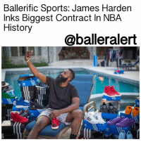 "Ballerific Sports: James Harden Inks Biggest Contract In NBA History - blogged by: @eleven8 ⠀⠀⠀⠀⠀⠀⠀⠀⠀ ⠀⠀⠀⠀⠀⠀⠀⠀⠀ JamesHarden has $228 million more reasons to stay in Houston, TX. The HoustonRockets have officially announced that they have signed the all-star to a four-year supermaximum contract extension that will run him through the 2022-23 season. ⠀⠀⠀⠀⠀⠀⠀⠀⠀ ⠀⠀⠀⠀⠀⠀⠀⠀⠀ Harden had already signed a four-year, $118 million extension with the Rockets last year and had two years and $59 million left on his current contract. He'll now earn $228 million total through the end of his contract thanks to his $170 million extension. ⠀⠀⠀⠀⠀⠀⠀⠀⠀ ⠀⠀⠀⠀⠀⠀⠀⠀⠀ ""Houston is home for me,"" Harden said in a statement. ""[Owner Leslie Alexander] has shown he is fully committed to winning, and my teammates and I are going to keep putting in the work to get better and compete for the title."" ⠀⠀⠀⠀⠀⠀⠀⠀⠀ ⠀⠀⠀⠀⠀⠀⠀⠀⠀ Harden's new teammate, ChrisPaul, has also commented on the news, posting, ""CONGRATS!!! To hell with the ball, lemme hold some money"" on Instagram. ballerificsports: Ballerific Sports: James Harden  Inks Biggest Contract In NBA  History  @balleralert  渹ㄓ Ballerific Sports: James Harden Inks Biggest Contract In NBA History - blogged by: @eleven8 ⠀⠀⠀⠀⠀⠀⠀⠀⠀ ⠀⠀⠀⠀⠀⠀⠀⠀⠀ JamesHarden has $228 million more reasons to stay in Houston, TX. The HoustonRockets have officially announced that they have signed the all-star to a four-year supermaximum contract extension that will run him through the 2022-23 season. ⠀⠀⠀⠀⠀⠀⠀⠀⠀ ⠀⠀⠀⠀⠀⠀⠀⠀⠀ Harden had already signed a four-year, $118 million extension with the Rockets last year and had two years and $59 million left on his current contract. He'll now earn $228 million total through the end of his contract thanks to his $170 million extension. ⠀⠀⠀⠀⠀⠀⠀⠀⠀ ⠀⠀⠀⠀⠀⠀⠀⠀⠀ ""Houston is home for me,"" Harden said in a statement. ""[Owner Leslie Alexander] has shown he is fully committed to winning, and my teammates and I are going to keep putting in the work to get better and compete for the title."" ⠀⠀⠀⠀⠀⠀⠀⠀⠀ ⠀⠀⠀⠀⠀⠀⠀⠀⠀ Harden's new teammate, ChrisPaul, has also commented on the news, posting, ""CONGRATS!!! To hell with the ball, lemme hold some money"" on Instagram. ballerificsports"