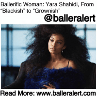 "Children, Family, and Memes: Ballerific Woman: Yara Shahidi, From  ""Blackish"" to ""Grownish""  05  13  @balleralert  Read More: www.balleralert.com Ballerific Woman: Yara Shahidi, From ""Blackish"" to ""Grownish"" - blogged by @lanaladonna ⠀⠀⠀⠀⠀⠀⠀ ⠀⠀⠀⠀⠀⠀⠀ In a perfect world, men and women would receive equal pay. African American women would be presented the same opportunities as their white counterparts. Rejection would be based on qualifications rather than race. ⠀⠀⠀⠀⠀⠀⠀ ⠀⠀⠀⠀⠀⠀⠀ Unfortunately, this world is far from perfect, however, there are people, more specifically women, who have dedicated their time, money and education to make a positive change. They've used their experiences and their encounters with injustices to fight and-or create more opportunities for their children and their children's children, in an effort to make the world a better place. They've put our pain and problems on their backs and created space for change, new opportunities for our brothers and sisters to excel and succeed in a world that is designed against us. This is BlackExcellence. These are Ballerific Women. ⠀⠀⠀⠀⠀⠀⠀ ⠀⠀⠀⠀⠀⠀⠀ One of those special individuals is YaraShahidi, who is a young actress and model. ⠀⠀⠀⠀⠀⠀⠀ ⠀⠀⠀⠀⠀⠀⠀ She's best known for her role as Zoey Johnson of ""Black-ish,"" and it's spin off show, ""Grown-ish,"" that premiered last week. ⠀⠀⠀⠀⠀⠀⠀ ⠀⠀⠀⠀⠀⠀⠀ However, the 17-year old isn't a new face to the screen. Back in 2009, Shahidi starred in Paramount Picture's ""Imagine That,"" alongside actor and comedian EddieMurphy. For this film, she received a Young Artist Award nomination for the best performance in a feature film category. ⠀⠀⠀⠀⠀⠀⠀ ⠀⠀⠀⠀⠀⠀⠀ In 2012, she starred in the TV series, ""The First Family,"" where she played the daughter of President William Johnson. ⠀⠀⠀⠀⠀⠀⠀ ⠀⠀⠀⠀⠀⠀⠀ Shahidi also received NAACP's Image Award for ""Best Supporting Actress in Comedy......to read the rest log on to BallerAlert.com (clickable link on profile)"