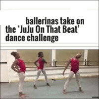 Dancing, Memes, and Dance: ballerinas take on  the Juju On That Beat'  dance challenge They did that☀️😞 via @laughlifegoals