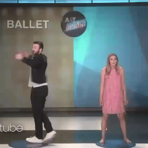 Chris Evans, Fucking, and Target: BALLET  ube vanjiebear: tehrogue:  geniushuri: Choose your fighter Chris Evans is fucking majestic   😁