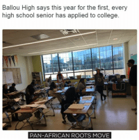 The entire senior class at Ballou High School in Southeast Washington has applied for college for the first time. They have 189 seniors and this time 100 percent of them have applied to schools and expecting the acceptance letters and some of them already received them. One of the students was accepted to five schools and another eleven. Also this year 100 more students took the SAT this year, comparing to 2016. This is a progress and definitely a success. More and more student realize the importance of the education and despite what's happening with schools today- some of the are closing and the financing was cut down seriously – they still manage to succeed! It's a breakthrough and we hope for more good changes next year! move9 move themove moveorginization westphiladelphia somethingsneverchange onthemove cornelwest mumiaabujamal hate5six philadelphia knowledgeispower blackpride blackpower blacklivesmatter unite panafricanrootsmove blackhistorymonth: Ballou High says this year for the first, every  high school senior has applied to college  PAN-AFRICAN ROOTS MOVE The entire senior class at Ballou High School in Southeast Washington has applied for college for the first time. They have 189 seniors and this time 100 percent of them have applied to schools and expecting the acceptance letters and some of them already received them. One of the students was accepted to five schools and another eleven. Also this year 100 more students took the SAT this year, comparing to 2016. This is a progress and definitely a success. More and more student realize the importance of the education and despite what's happening with schools today- some of the are closing and the financing was cut down seriously – they still manage to succeed! It's a breakthrough and we hope for more good changes next year! move9 move themove moveorginization westphiladelphia somethingsneverchange onthemove cornelwest mumiaabujamal hate5six philadelphia knowledgeispower blackpride blackpower blacklivesmat