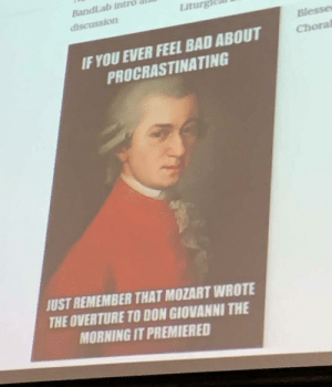 Band teacher posted this with daily agenda: Band teacher posted this with daily agenda