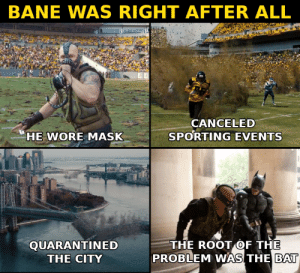 Bane was right: Bane was right