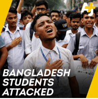 Students are protesting in Bangladesh about road safety after two students were killed by a speeding bus. Now they are being attacked. #bangladeshstudentprotests: BANGLADESH  STUDENTS  ATTACKED Students are protesting in Bangladesh about road safety after two students were killed by a speeding bus. Now they are being attacked. #bangladeshstudentprotests