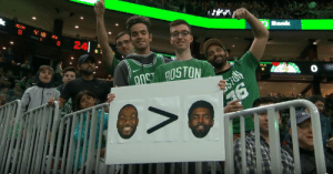 RT @ClutchPointsApp: Agree or disagree with this Celtics fan? https://t.co/73B3PjCJaW: Bank  CELTES  4 18  NETS  PEOD  24  0  FLS  aOS AOSTON  > RT @ClutchPointsApp: Agree or disagree with this Celtics fan? https://t.co/73B3PjCJaW