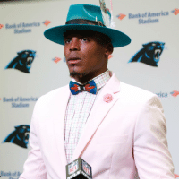 Cam Newton: The Pink Panther 🌂: Bank of America  Stadium  rica 9 Cam Newton: The Pink Panther 🌂