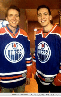 """<p>Fred and George weasley are oilers fans! <a href=""""http://ift.tt/12i5vzw"""">http://ift.tt/12i5vzw</a></p>: Banned in 0 countries  MUGGLENET MEMES.COM <p>Fred and George weasley are oilers fans! <a href=""""http://ift.tt/12i5vzw"""">http://ift.tt/12i5vzw</a></p>"""