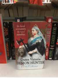 """New York, Tumblr, and Queen: BANTAM  YORK  She loved  TIMES  BESTSELLER  BERKLEY  NOVEL  NOVEL  her country.  She hated  0mbies.  W YORK  TIMES  TSELUNG  NEW YORK  TIMES  BESTSELLING  O AUTHOR  Queen Victoria:  DEMON HUNTER <p><a href=""""http://kaprika.tumblr.com/post/170846012311/shiftythrifting-why-does-this-exist-in-canada"""" class=""""tumblr_blog"""">kaprika</a>:</p><blockquote> <p><a href=""""http://www.shiftythrifting.com/post/170845983100/why-does-this-exist-in-canada"""" class=""""tumblr_blog"""">shiftythrifting</a>:</p>  <blockquote><p>Why does this exist in Canada</p></blockquote>  <p>Do you know anything about Canadian history? </p> </blockquote>"""