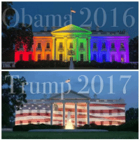 Memes, Obama, and Trump: bap 2016 The difference is clear - #AmericaFirst #Trump #Obama