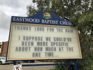 Baptists do have a sense of humour.: Baptists do have a sense of humour.