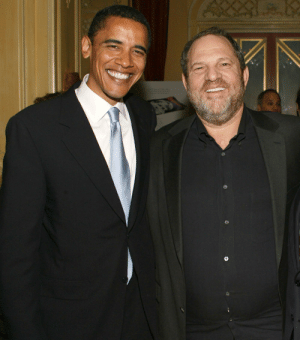 Barack Obama and Sexual Offender Harvey Weinstein: Barack Obama and Sexual Offender Harvey Weinstein