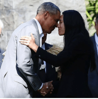 Hello, Memes, and Obama: Barack Obama hit it on the nose in New Zealand - saying hello the right way by pressing his face up against his hosts. No lip locking, of course. Think Eskimo kisses, with a Kiwi twist. obama newzealand tmz