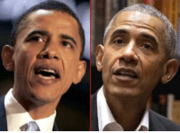 Birthday, Memes, and Obama: Barack Obama's good looks haven't changed! Good Genes or Good Docs? Here's a 42-year-old (left), and 57-year-old version of the President who just celebrated his birthday this week. Gives us hope! tmz obama happybirthday