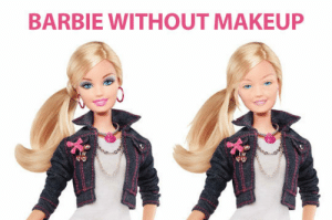 Barbie doll without makeup…http://advice-animal.tumblr.com/: Barbie doll without makeup…http://advice-animal.tumblr.com/