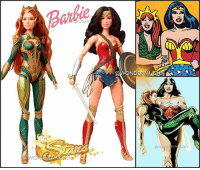 Barbie, Beautiful, and Memes: Barbie  NDERVAU GIRL POWER! The QUEEN of Atlantis & The GODDESS of Truth Here are beautiful Barbie dolls of @amberheard as Mera and @gal_gadot as Diana. *** mywonderwoman girlpower women femaleempowerment MulherMaravilha MujerMaravilla galgadot unitetheleague princessdiana dianaprince amazons amazonwarrior manofsteel thedarkknight barbie barbiedoll barbiecollector amberheard mera queenmera