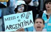 Soccer, Argentina, and Barca: BARCA BARCA  t 10  ARGENTINA  ARGENT Argentina fans telling it like it is.